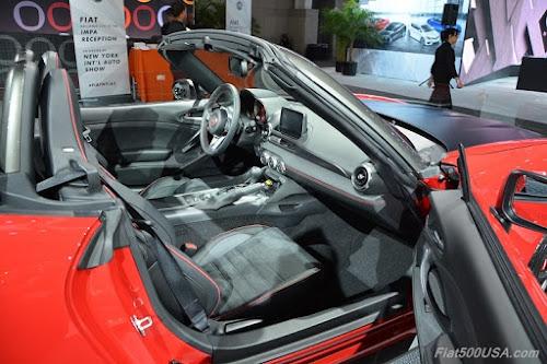 Fiat 124 Spider Elaborazione Abarth Interior