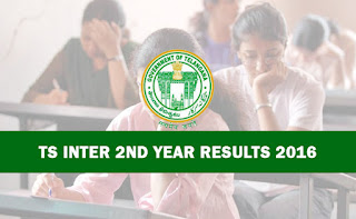 TS Telangana Inter 2nd Year Results 2016 TS State Intermediate Second Year Results 2016 announced today TS Inter 2 nd year Results 2016 TS Inter IInd Year Results 2016 with Marks by Name wise subject wise marks list Telangana Intermediate 1st year and 2nd year results 2016 will be released on 22 nd or23rd April 2016. Latest Inter Results