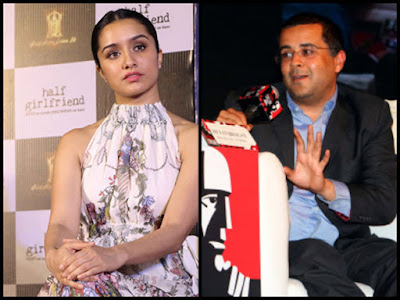 Chetan-Bhagat-passes-loose-remark-on-Shraddha-Kapoor-Andhra-Talkies
