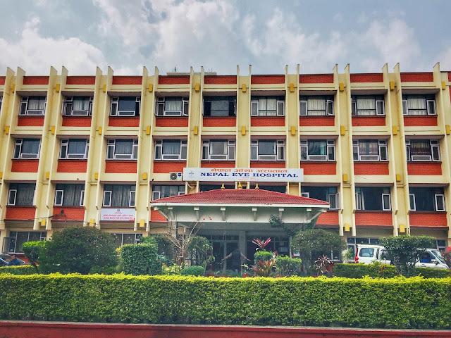 Nepal Eye Hospital Building
