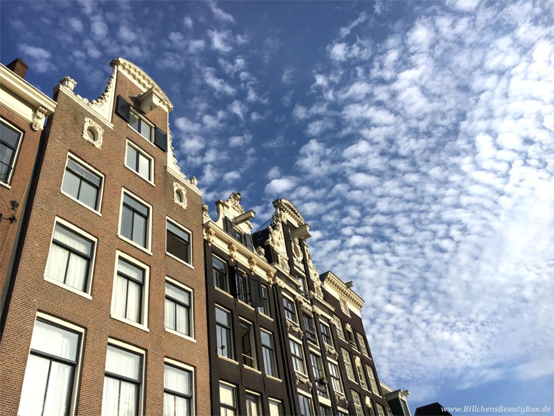 Amsterdam Häuserfront