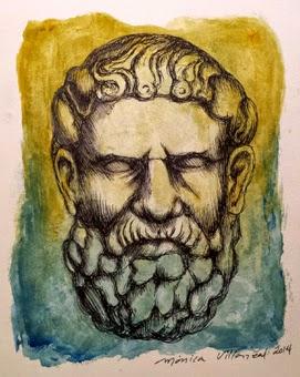 Resultado de imagem para Arquíloco de Paros