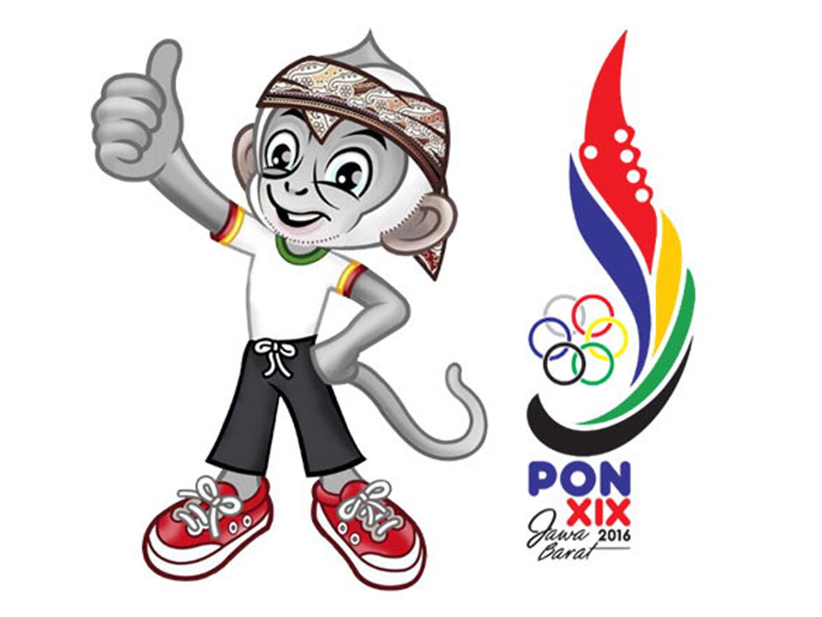 Logo PON XIX Jawa Barat 2016