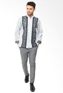 Koleksi Model Baju Koko Pria Terbaru Kombinasi Lengan Pendek Dan Panjang