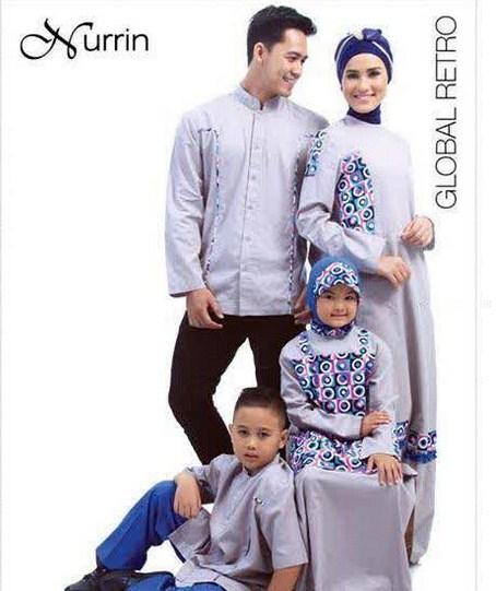 Model Pakaian Muslim Couple Keluarga Terbaru