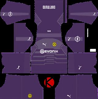Borussia Dortmund 2018/19 Kit - Dream League Soccer Kits