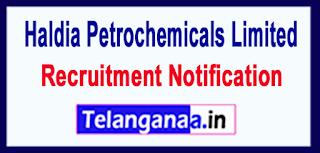 Haldia Petrochemicals Recruitment Notification 2017 Last Date 22-05-2017