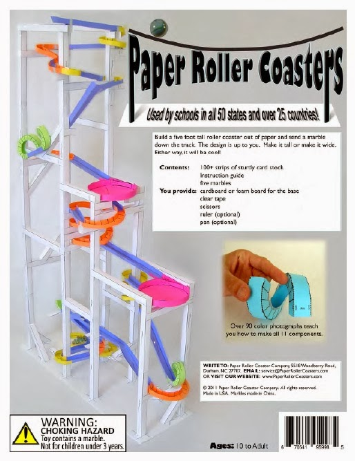 The hemulen 39 s dress building a roller coaster for Free printable paper roller coaster templates