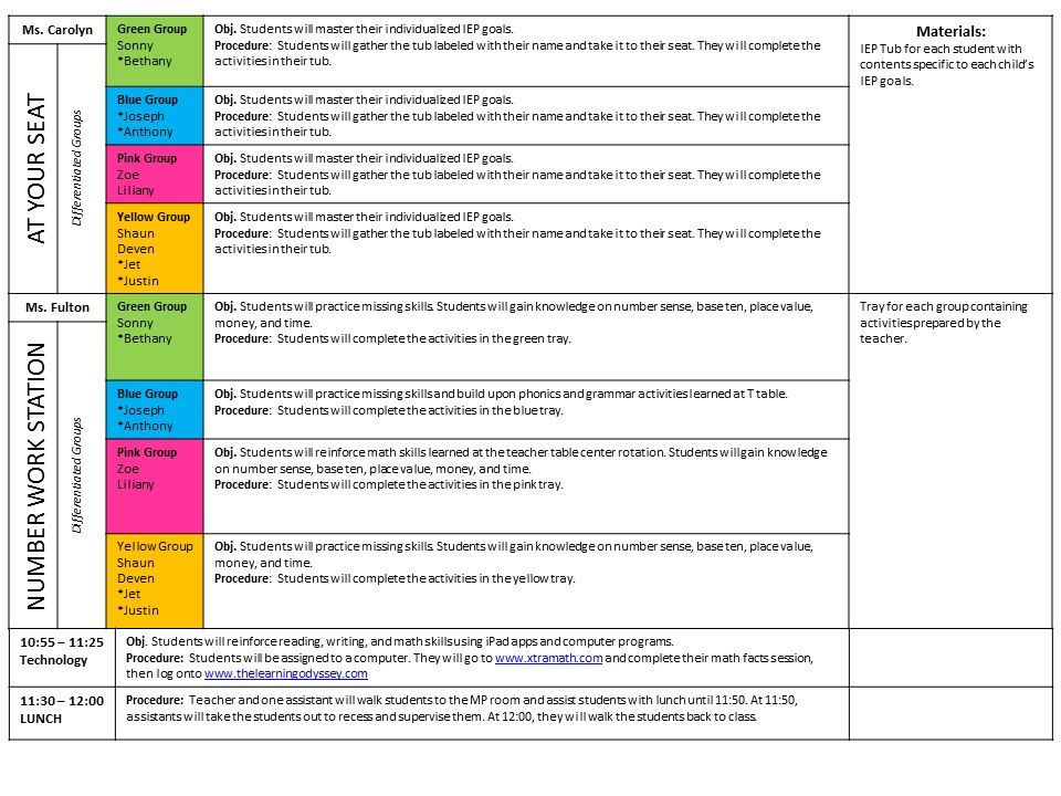 iep sample for learning disabilities pdf