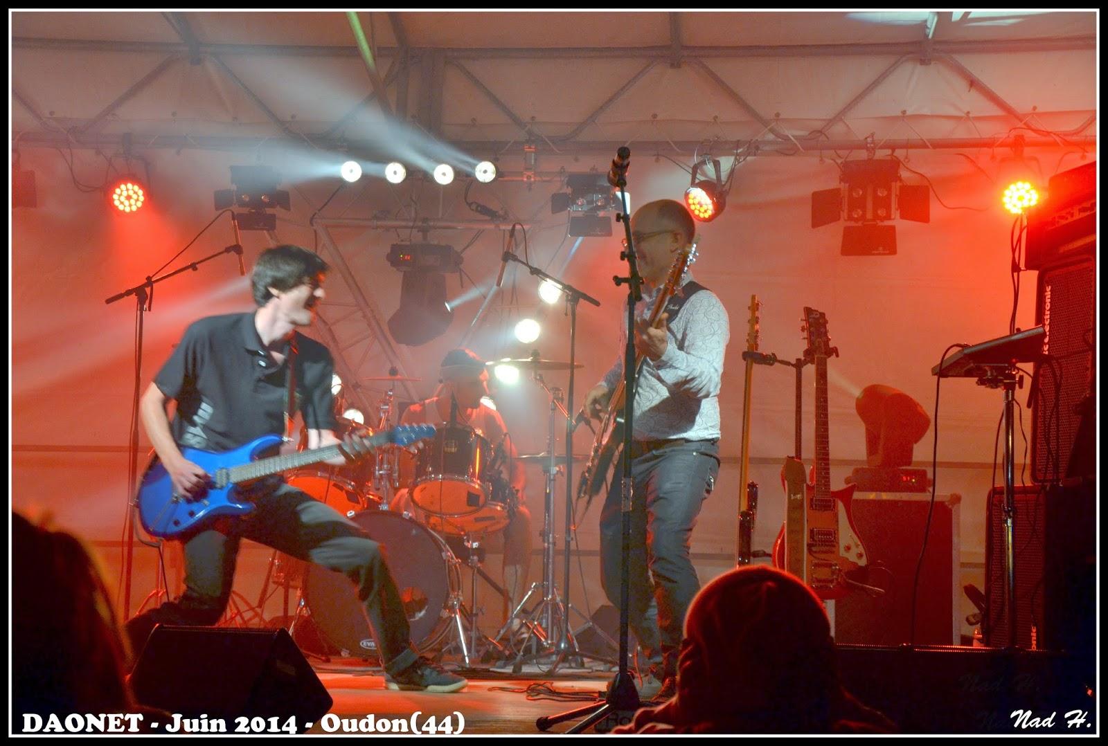 Daonet - Rock breton fête de la musique 2014 Oudon