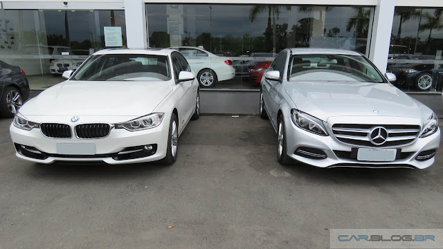 BMW 320i Active Flex x Mercedes-Benz C180