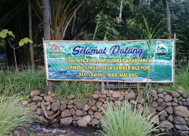 Wisata Air Krabyakan, Malang. pretty-moody.com