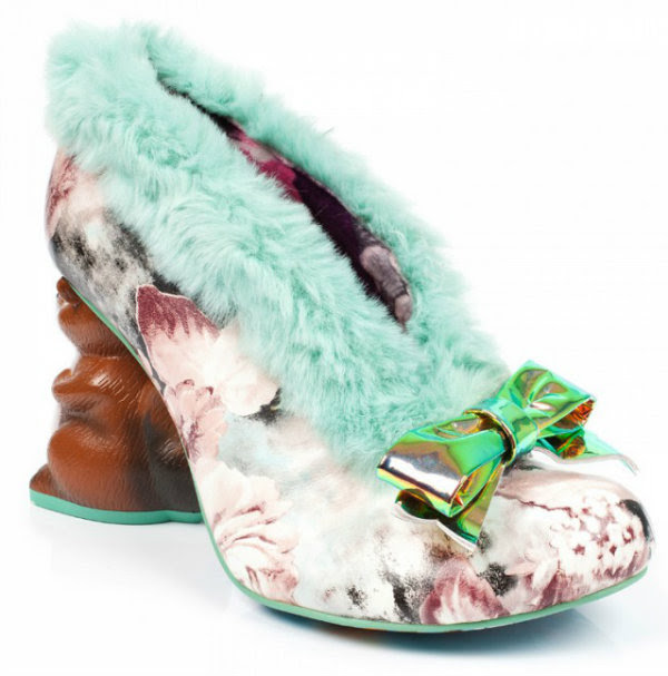 Irregular Choice furry o nutty squirrel heels