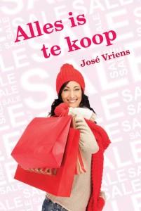 grote letter alles is te koop Jose Vriens