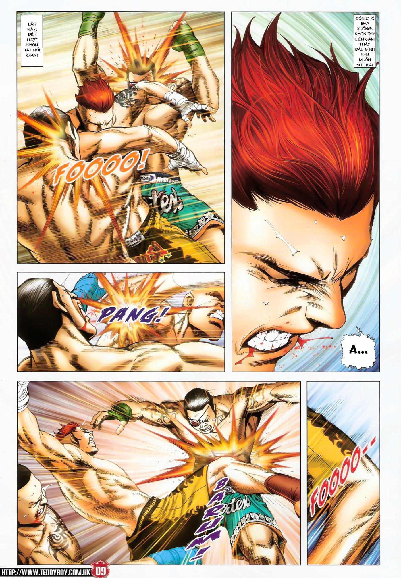Người Trong Giang Hồ NetTruyen chap 1424 - Trang 8