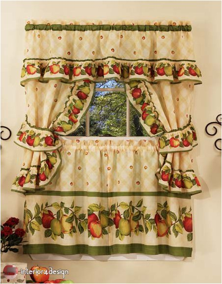 Elegant Kitchen Curtains 35