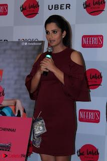 Indian Tennis Star Sania Mirza Pos in Red Short Dress at  0007.jpg