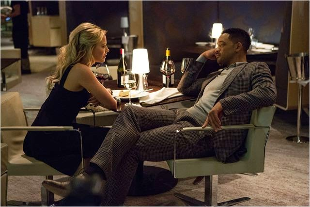 Margot Robbie y Will Smith en Focus: Maestros de la Estafa