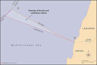 EEZ LEBANON ISRAEL