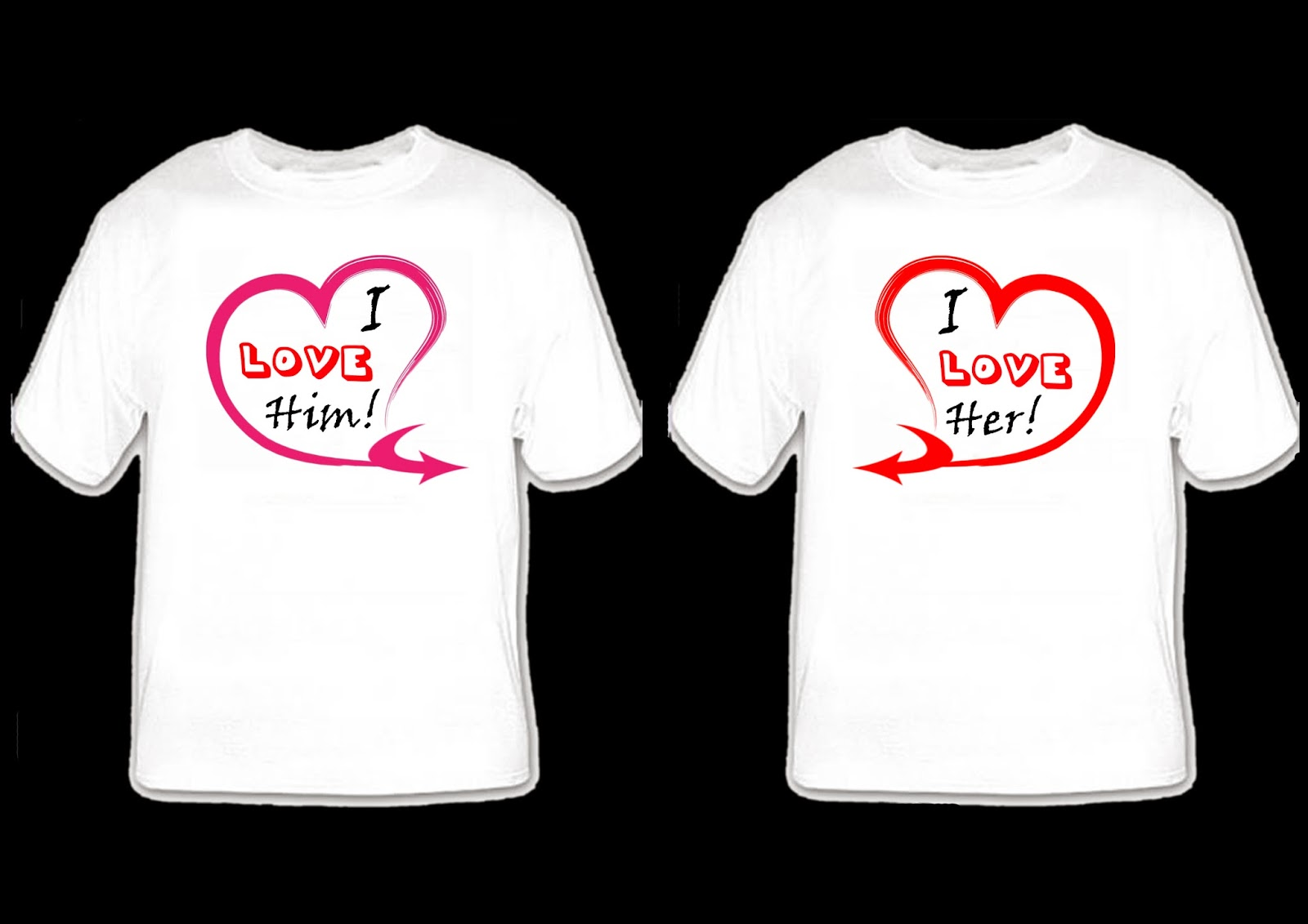 Couple Shirts Design | Joy Studio Design Gallery - Best Design