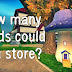 How Many Seeds Can You Store?
