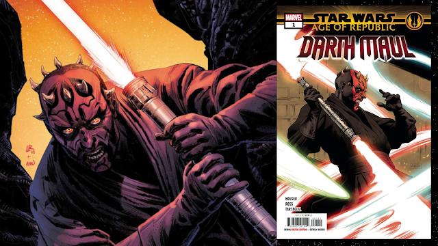 Marvel: Zapowiedź Age of Republic: Darth Maul #1
