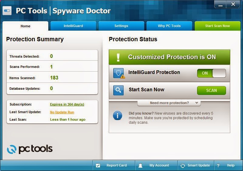 PC Tools Spyware Doctor 9.0.0.912
