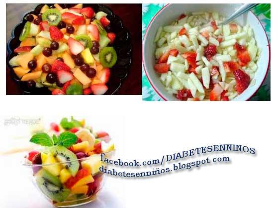 recetas de refrigerios para la diabetes tipo 1