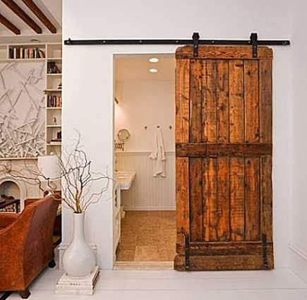 Small Bathroom Door Design