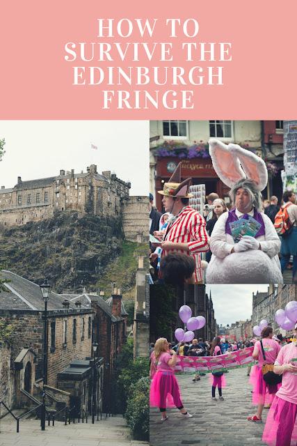 Pin for the edinburgh fringe