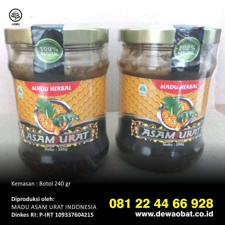 tangkur madu indonesia madu herbal asam urat