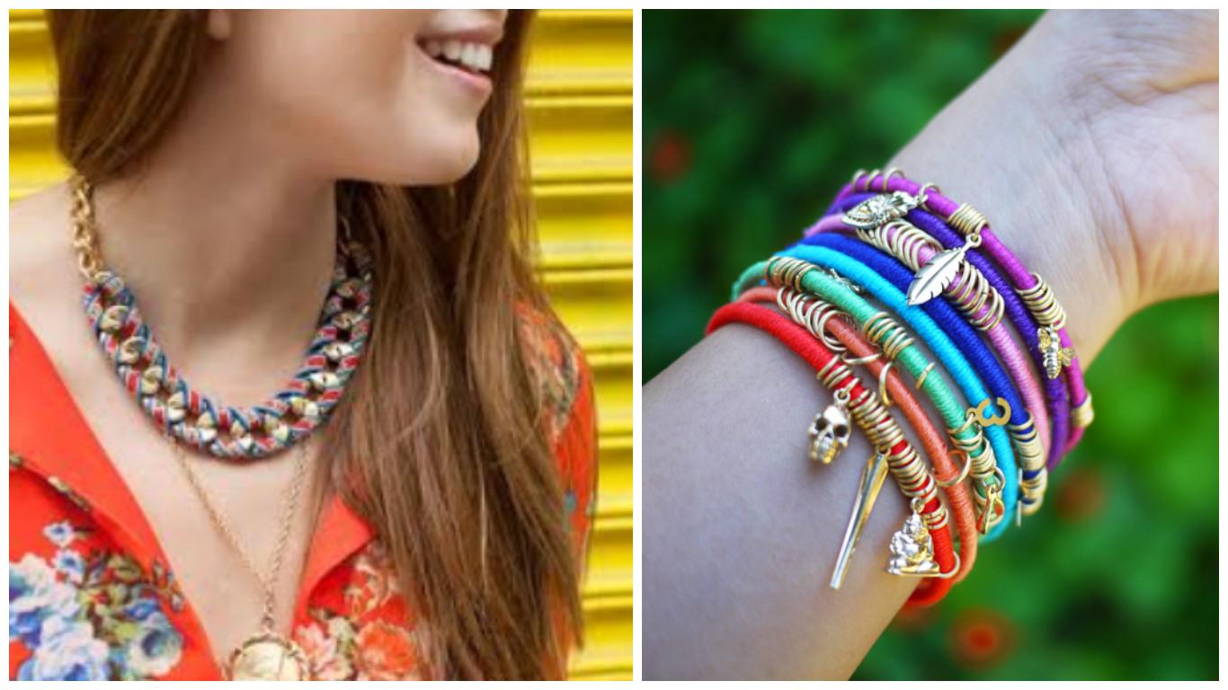 c832e1ef2778 Aprende de manera fácil cómo hacer pulseras y collares ~ Belleza y ...