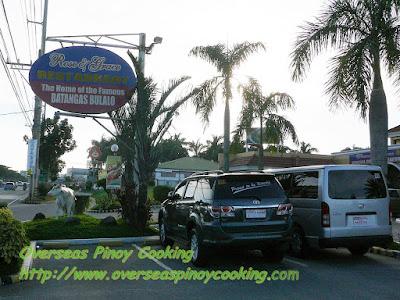 Batangas Bulalo at Rose and Grace Restaurant - Sta Rosa Branch