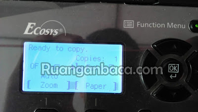 Cara Setting Ukuran Kertas Folio/ F4 Mesin photocopy kyocera m2540/m2040