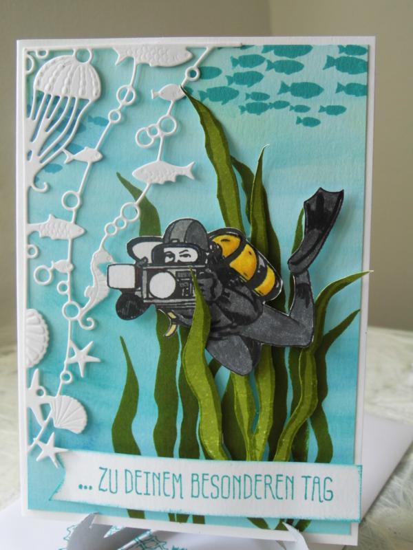 Kartenfenster: im Meer I   Taucher und Unterwasser Fotograf