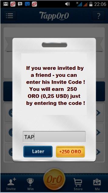 قنبلة الربح من اندرويد تطبيق Tapporo للربح عن طريق تنزيل التطبيقات   إثبات الدفع