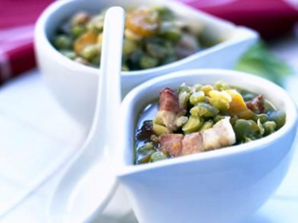 Soupe De Pois Cassés Au Lard