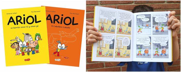 colección cómics niños ariol harperkids