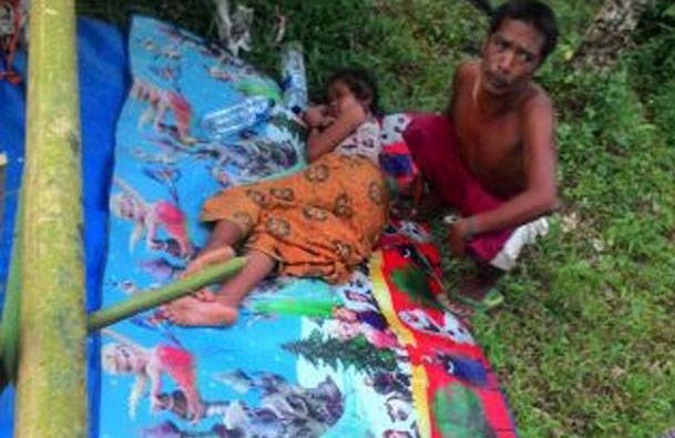 Bantu Sebarkan!!! Karena Tak Punya Biaya, Suku Anak Dalam Diusir Rumah Sakit Saat Ingin Berobat