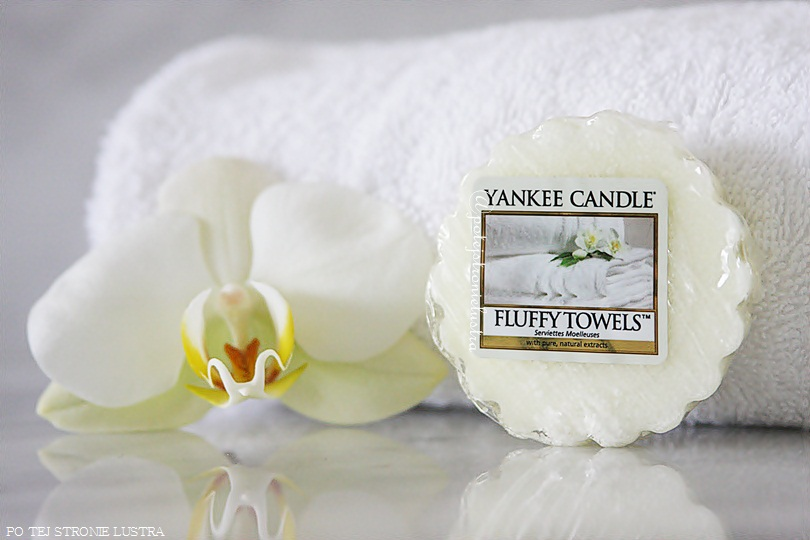 wosk yankee candle fluffy towels