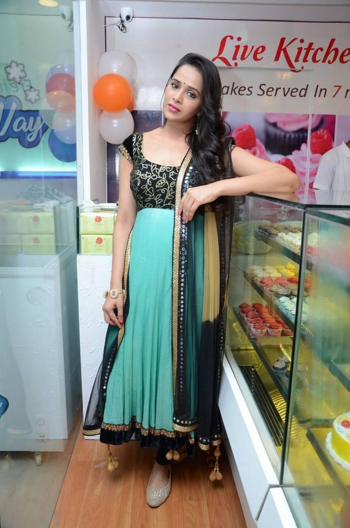Abha Singal At 7th Heaven Restaurant Launch Stills