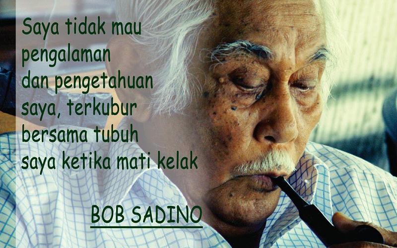11 Kata Mutiara 'Goblok' Bob Sadino yang Mendunia