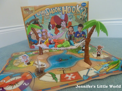 Board games review - Who Shook Hook, Dazzling Princess game and Dobble