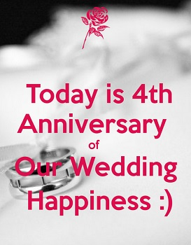 Find and save ideas about 4th Anniversary on Facebook | See more ideas about HUSBAND 4rd anniversary ideas, Diy WIFE 4 year anniversary and husband ideas