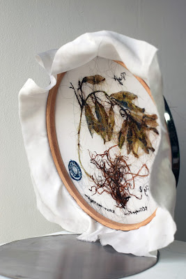 Laura Sanchez Filomeno, art avec cheveux