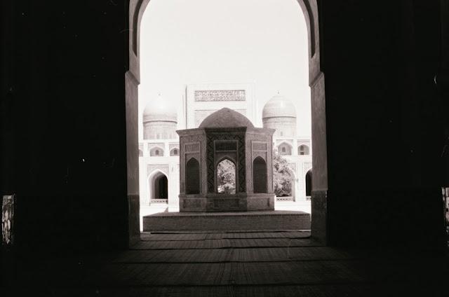 Ouzbékistan, Boukhara, Mosquée Kalyan, © Louis Gigout, 1999