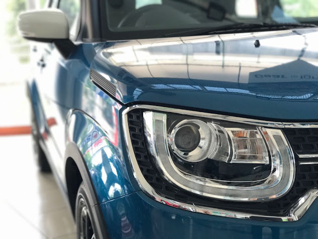 SUZUKI IGNIS GLX MANUAL BLUE