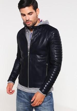 Harga Jaket Kulit Domba Super Asli Garut Pria Warna Hitam Brida Leather