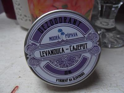 Modrá púpava Levanduľový dezodorant