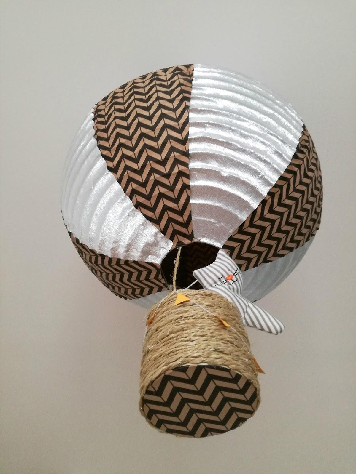 DIY Suspension montgolfière pour chambre d enfant Truc & Tricks